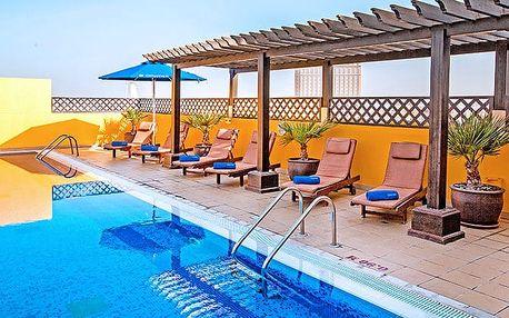 Hotel Citymax Al Barsha, Dubaj, Spojené arabské emiráty, letecky, snídaně v ceně