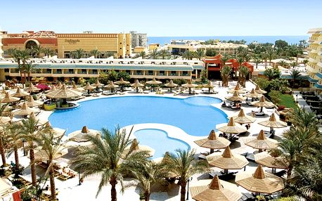 Hotel Sindbad Club Aqua, Hurghada, Egypt, letecky, all inclusive