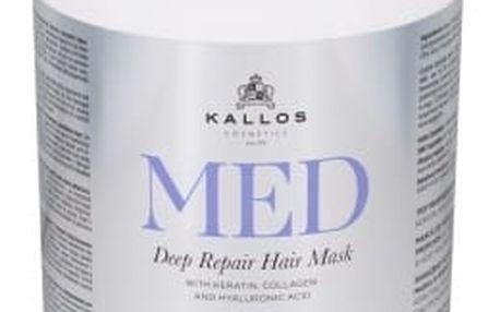 Kallos Cosmetics MED 1000 ml maska na vlasy pro ženy