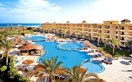 Hotel Amwaj Blue Beach Resort & Spa Abu Soma, Hurghada, Egypt, letecky, all inclusive