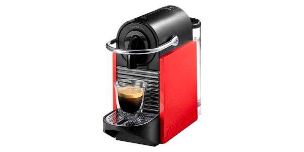 Espresso DeLonghi Nespresso Pixie Clips EN126 bílé/červené + Doprava zdarma