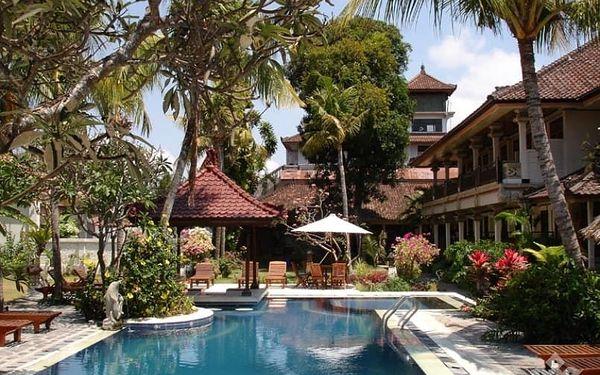 Indonésie, Bali, letecky na 10 dní snídaně