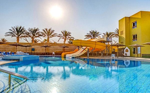 Hotel Palm Beach Resort, Hurghada, Egypt, letecky, all inclusive
