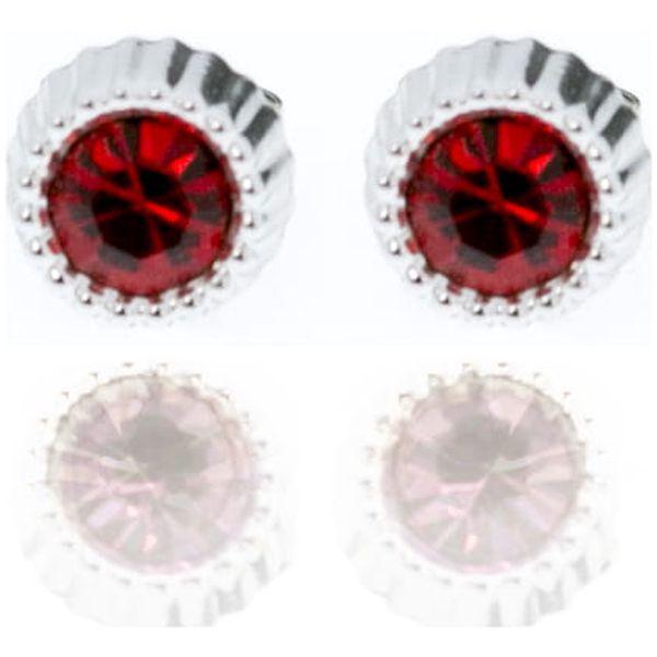 Fashion Icon Náušnice pecky barevné 5 mm