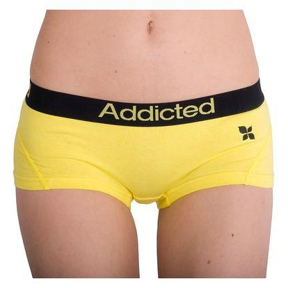 Dámské Kalhotky Addicted Žlutá S