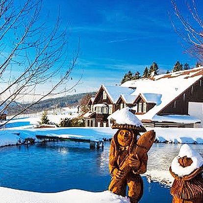 Rodinný zimní pobyt v Krkonoších s wellness