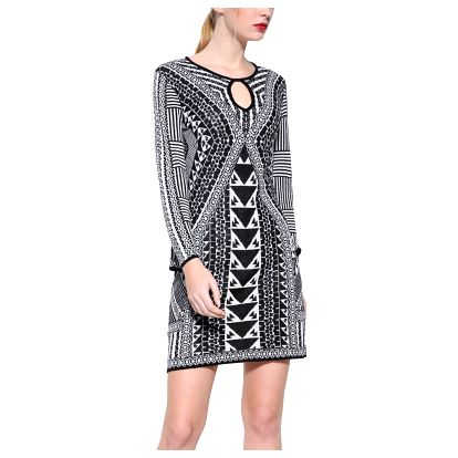 Desigual úpletové šaty Hayley