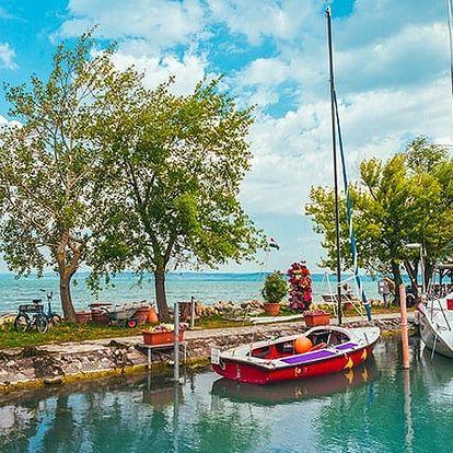 Villa Campana, Skvělý odpočinek a relax s polopenzí přímo u břehu Balatonu