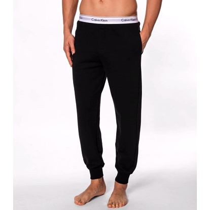 Calvin Klein černé pánské tepláky Jogger