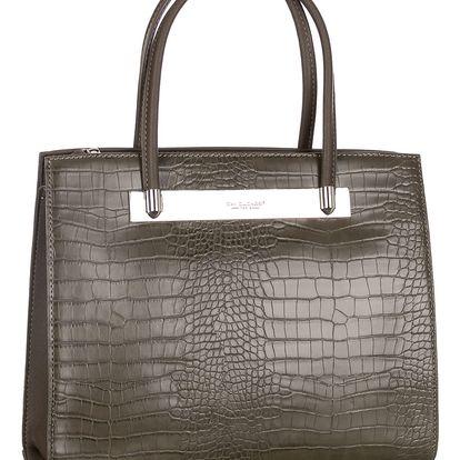 David Jones Dámská kabelka s krokodýlím motivem klasická