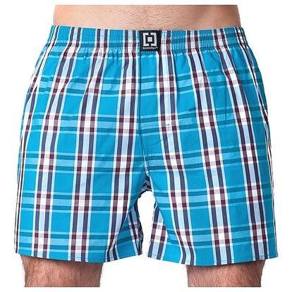 Pánské Trenky Horsefeathers Sin Boxer Shorts Blue XL