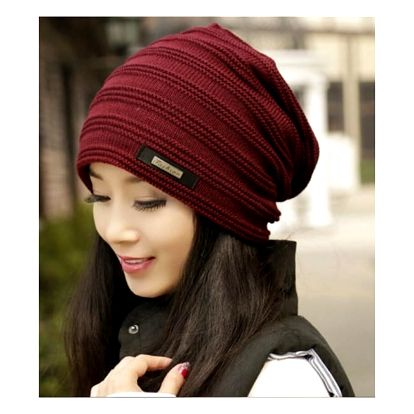 Dámská čepice s kožíškem Livia