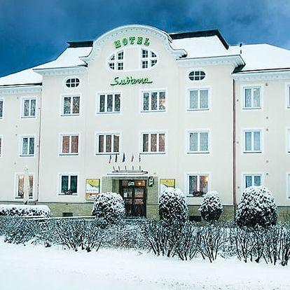 Hotel Subterra***, Příjemné ubytování s wellness a polopenzí u Jáchymova