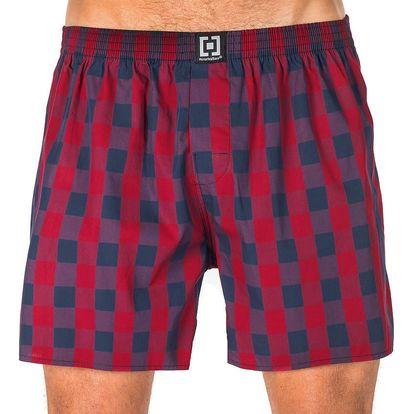 Pánské Trenky Horsefeathers Sin Boxer Shorts Midnight Navy XL