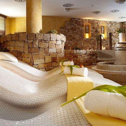 Hotel Spa Bílý Hořec v Harrachově s polopenzí a wellness