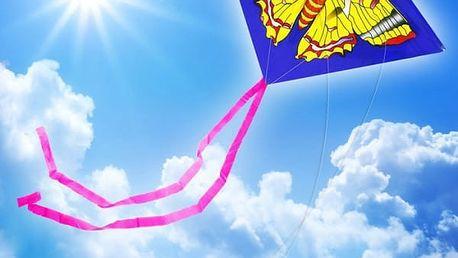 Létající drak se dvěma úchyty