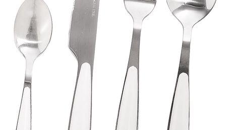 16dílná sada příborů Cutlery, bílá, cd7000050