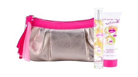 Salvador Dali Little Kiss Me dárková kazeta pro ženy toaletní voda 30 ml + tělové mléko 100 ml + kosmetická taška