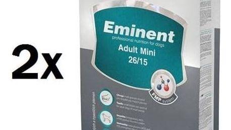 Granule Eminent Adult MINI 2 x 15 kg + 2 kg ZDARMA + Doprava zdarma