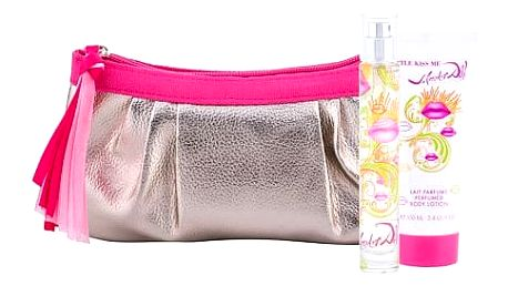Salvador Dali Little Kiss Me EDT dárková sada W - EDT 30 ml + tělové mléko 100 ml + kosmetická taška