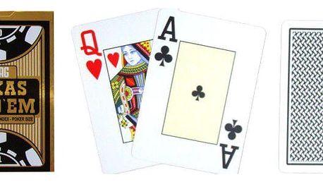 Poker karty Copag Gold Black