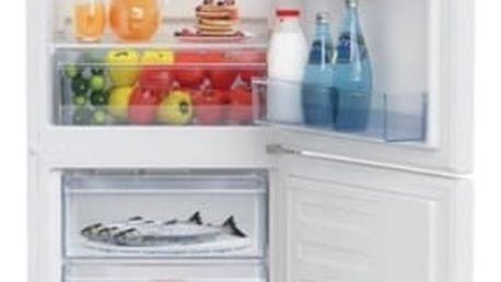 Kombinace chladničky s mrazničkou Beko CSA 240 M30W bílá