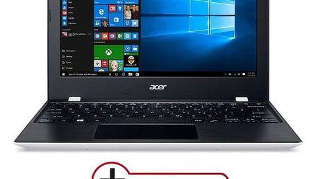 Notebook Acer Aspire One 11 (AO1-132-C3WT) (NX.SHPEC.004) černý/bílý Software F-Secure SAFE 6 měsíců pro 3 zařízení (zdarma) + Doprava zdarma