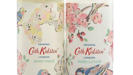 Cath Kidston Sada mýdla a krému na ruce ve stojánku Mandarin Blossom, multi barva, krémová barva, plast, keramika