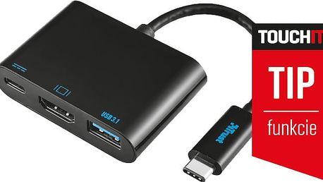Trust USB-C Multiport adaptér - 21260
