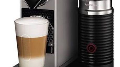 Espresso Krups Nespresso Citiz XN760B10 titanium + Doprava zdarma