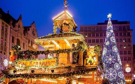 Adventní Wroclav, Polsko – zájezd na vánoční trhy