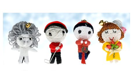 Kapesní štěstí: ručně dělané panenky Minivoodoo