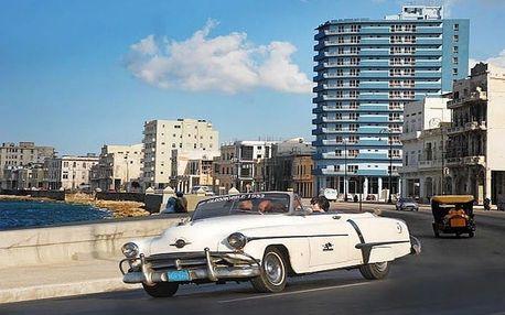 Kuba - La Habana (Havana) na 9 dní, snídaně s dopravou letecky z Prahy