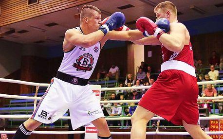 Trénink boxu se šampionem Danielem Táborským