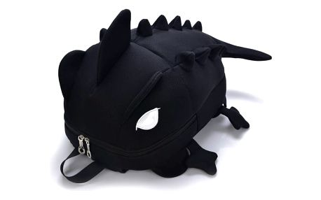 Dětský batoh v podobě chameleona