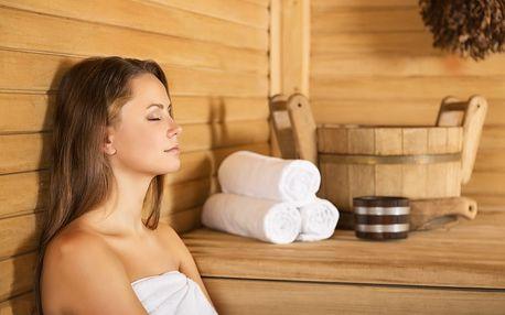 60min. vstup do sauny s možností masáže na Praze 8