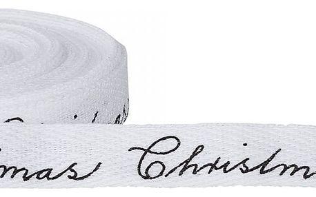 Bloomingville Vánoční bavlněná stuha Christmas 10m, černá barva, textil