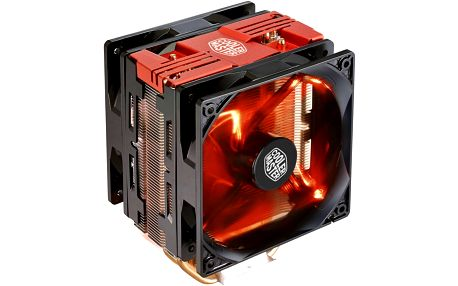 CoolerMaster Hyper 212 LED Turbo (Red Top Cover) - RR-212TR-16PR-R1