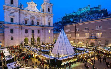Adventní Salzburg, Rakousko – zájezd na vánoční trhy