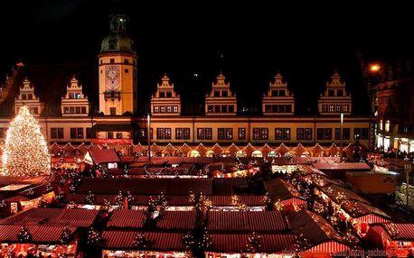 Adventní Lipsko, Německo – zájezd na vánoční trhy