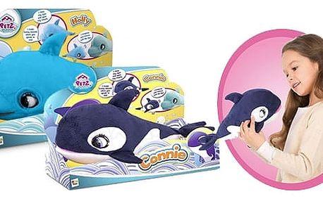 Blu Blu Friends – roztomilí mluvící kamarádi – kosatka a delfín interaktivn