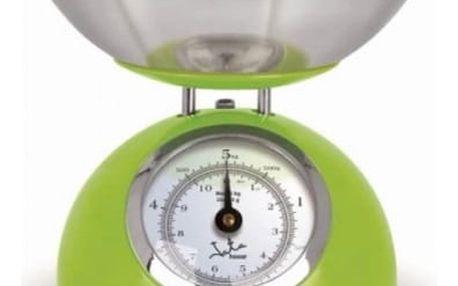 Kuchyňská váha JATA 612VE zelená/nerez