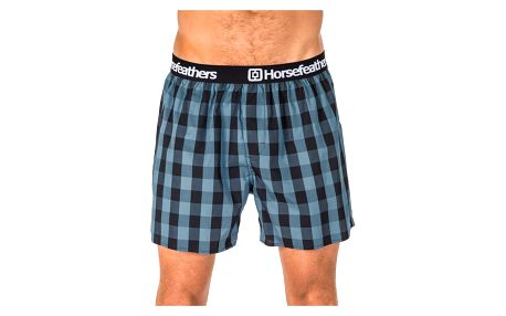 Pánské Trenky Horsefeathers Apollo Boxer Shorts Smoke Blue XL