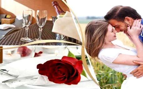 Romantická noc s wellness a šperkem pro dámu v luxusním GRAND BOUTIQUE HOTEL SERGIO****