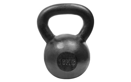 Kettlebell LIFEFIT Steell 16kg černá