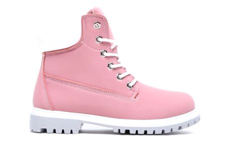 Dámské růžové kotníkové boty Cameron 094