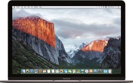 Apple MacBook 12, šedá - 2017 - MNYG2CZ/A