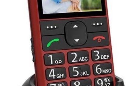 Mobilní telefon CPA Halo 11 (TELMY1011RE) červený