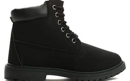 Dámské černé kotníkové boty Petty 800