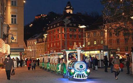 Výlet do Rakouska - Graz/Štýrský Hradec: čokoládovna, trhy